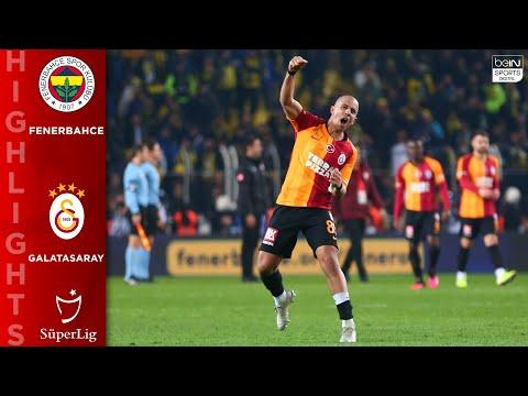 Fenerbahce 1 – 3 Galatasaray – HIGHLGIHTS & GOALS – 02/23/2020
