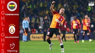 A 3-1 win for galatasaray sees them get their first intercontinental derby away to fenerbahce in 21 years.connect with bein sports online:watch us on tv:...