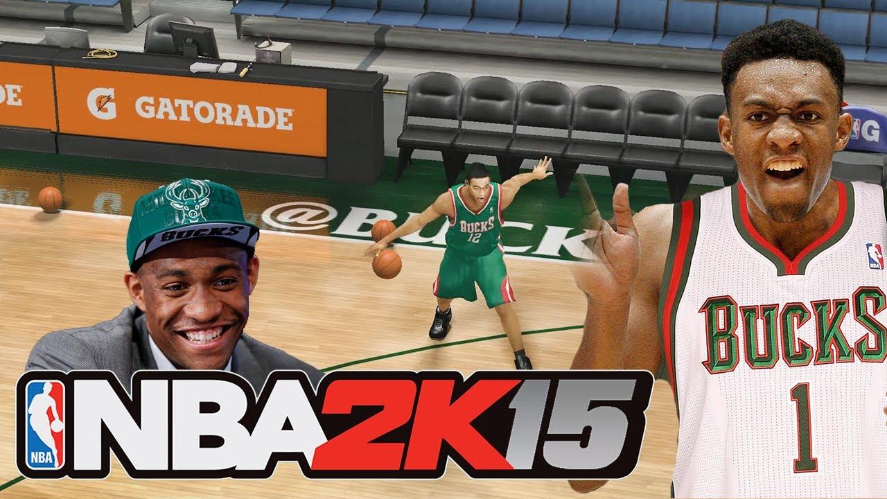 NBA 2K15 JABARI PARKER ROOKIE PREVIEW! Modded NBA 2K14 ... Jabari Parker Nba 2k14