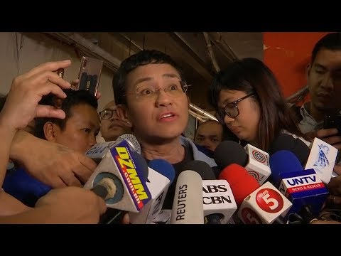 Philippine journalist released on bail after arrest causes outcry Mp3