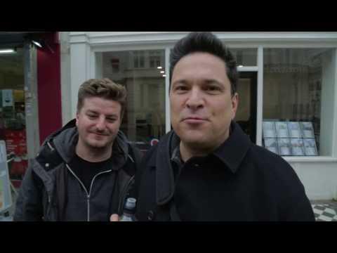 Grandaddy & Dom Joly – Behind The Scenes