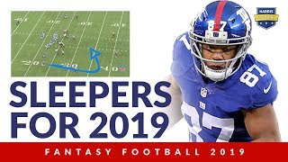 Five Fantasy Football Sleepers for 2019