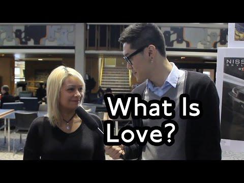 University of Waterloo on Love - Public Interviews