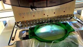 Making An Embroidered Towel