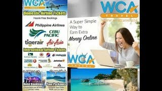 Ticketing Online Home Based Business by Wca Travel