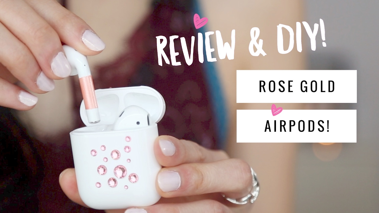 Apple Airpods Review Rose Gold Airpods Youtube