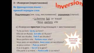 Французский с нуля, Урок 19, вопросительные предложения