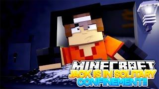 Minecraft Adventure - JACK IS IN SOLITARY CONFINEMENT!!