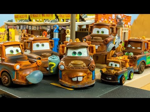 WHO? Maters Chase Mater Disney Cars Toys STOP Motion