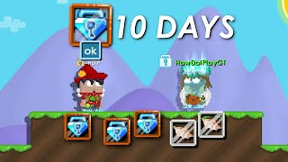 Getting 100DL in 10 DAY (Supplying Jamew7) - Growtopia