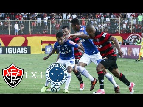 Vitória 1 X 1 Cruzeiro(HD)Melhores Momentos E Gols( Brasileirão ) 19/11/2017