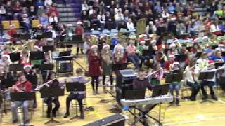 Combined Bands Christmas 2017 Concert KCSA