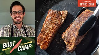 Searing with Authority–Becoming a Maillard Expert | Test Kitchen Boot Camp