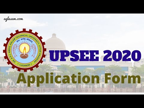 How to fill UPSEE 2020 Application Form Online - UPSEE Registration Step by Step Guide by AglaSem