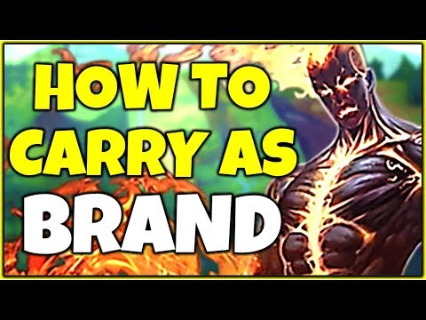 BURN THEM ALL! HOW TO CARRY AS BRAND SUPPORT! - League of Le