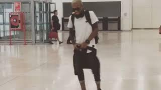 TEKNO SHOWS OFF HIS DANCE SKILLS