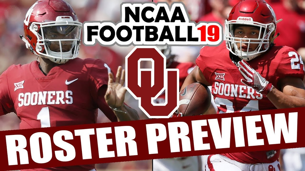 Oklahoma Roster Preview Ncaa Football 19 2018 Rosters For Ncaa 14