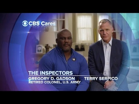 CBS Cares  Gregory D. Gadson and Terry Serpico  Wounded Warrior Project