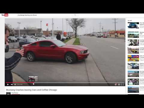 Mustang Crashes - What NOT To Do In A Mustang!