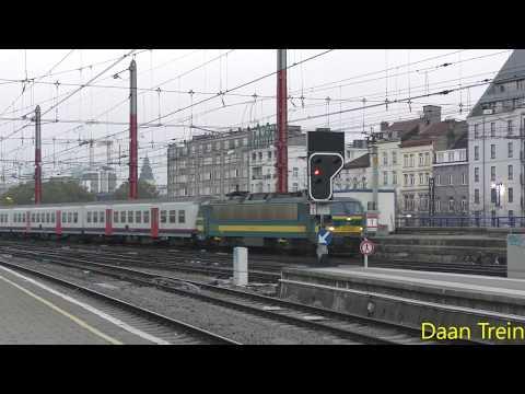 HLE 27 33 met M4 komt aan in Brussel Zuid