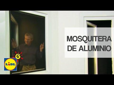 Mosquitera De Aluminio Para Ventana Lidl España смотреть видео