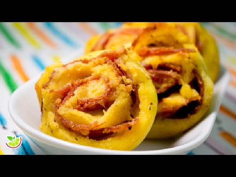 🧀 Ham & Cheese Rolls | Gluten Free | Flourless | Yo +Green
