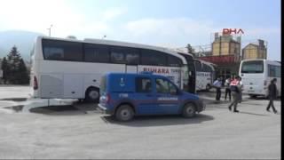 Kamplara Götürülen Suriyeli Sığınmacılar Otobüsten İnip Kaçtı