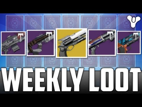 Destiny: DAT WEEKLY LOOT DOE!! (Opening 21+ Weekly Crucible Packages) - Age Of Triumph Loot
