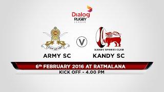 Army SC v Kandy SC - Dialog Rugby League 2015/16