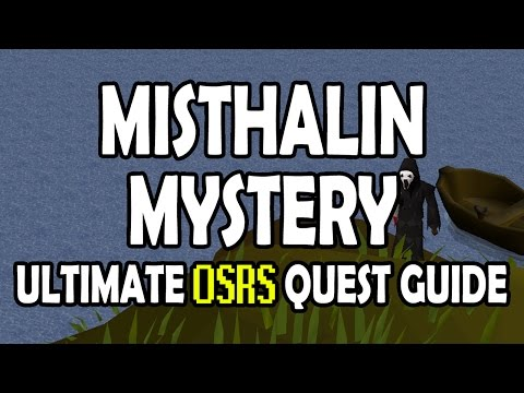 Runescape Halloween 2020 F2p OSRS] Misthalin Mystery Quest Guide for F2P on Old School