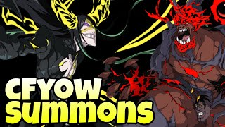 ALL IN FOR NNOITORA & YAMMY - CFYOW VOL. 2 SUMMONS - BLEACH BRAVE SOULS