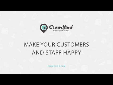 Improve Lost and Found with Crowdfind