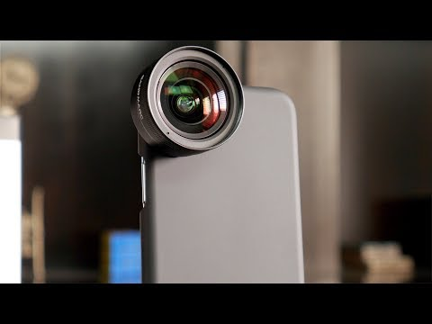 This Lens Is No Joke - SANDMARC Wide Angle Lens Kit for iPhone X