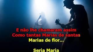 Roberto Carlos  -  Maria Carnaval e Cinzas - Karaoke