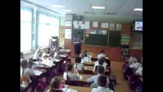 Урок обучения грамоте  в 1 классе «Загадки. Семейное чтение»