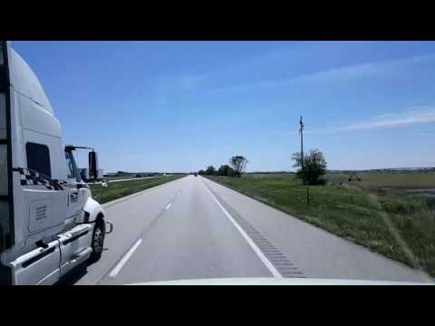 BigRigTravels LIVE! - Percival, Iowa to Higginsville, Missouri - May 14, 2016