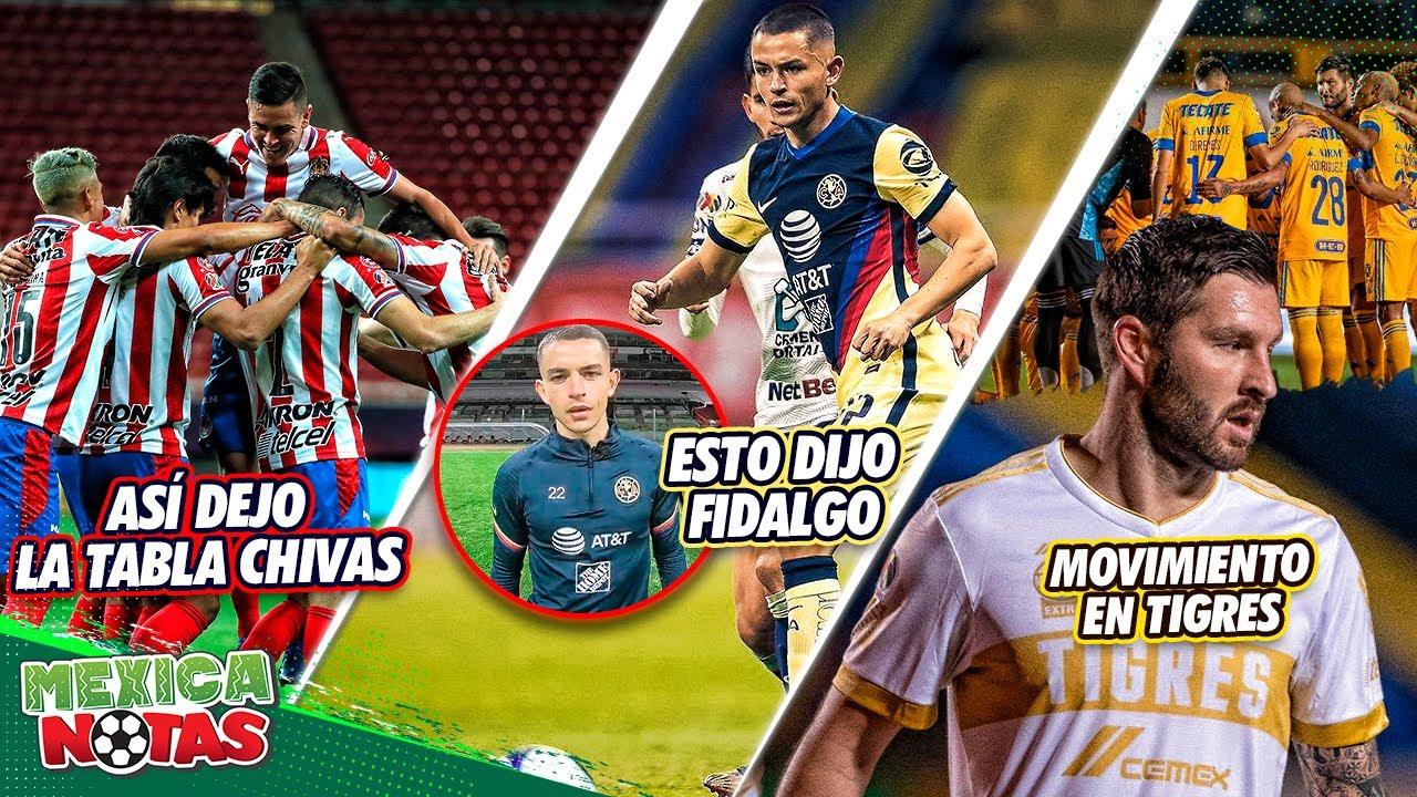 ¡Chivas HUMILLA a Pumas y ASÍ QUEDA LA TABLA!|MSJ de Fidalgo tras su PARTIDAZO|¡MOVIMIENTO enTigres!
