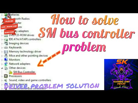 Shortest trick  how to solve SM bus controller problem in PC window 7/8.1/10 in all brands pc