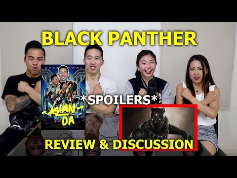 Black Panther Movie Review and Spoiler Discussion | Asians Down Under - Aussie Asians