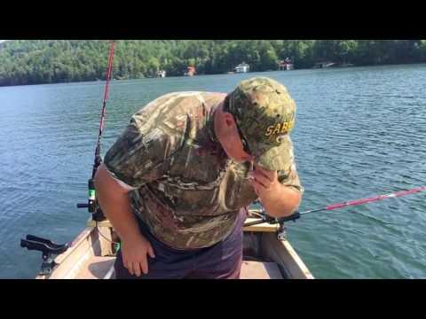 Lake Yonah Walleye Fishing