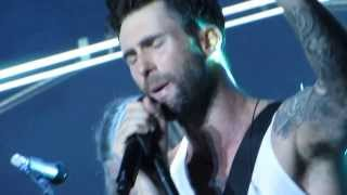 Payphone - Maroon 5 @ Jones Beach, Wantagh, NY, 8/11/2013