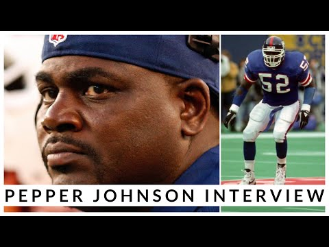 A New York Giants Legend Calls Into The Show! | The One, The Only Pepper Johnson!
