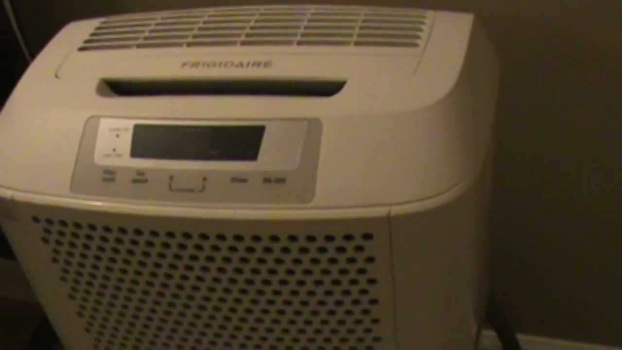 frigidaire dehumidifier not draining youtube rh youtube com