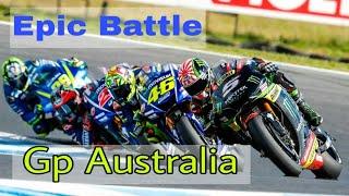 Race  Best Overtake  MOTO GP Phillips Island Australian 22102017
