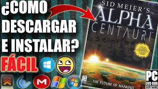 Descargar Sid Meier's Alpha Centauri para PC en español FÁCIL (FULL)
