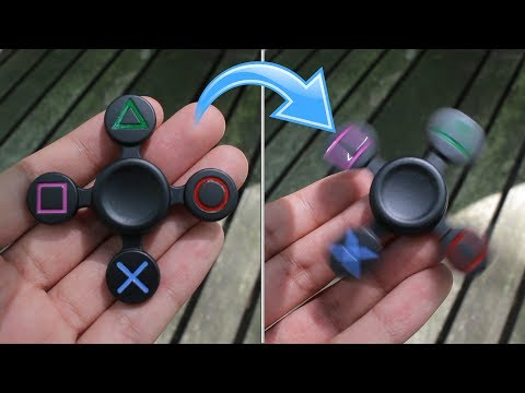 THE PLAYSTATION FIDGET SPINNER UNBOXING!