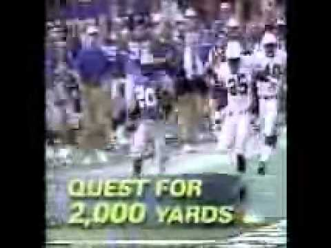 1997 NFL on NBC Promo (Week 17: 2nd Game -- DET vs. NYJ)