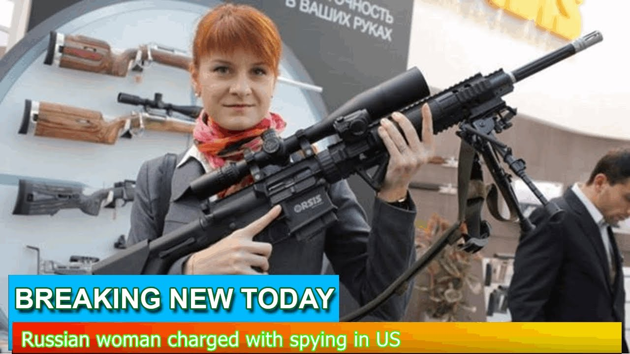 Russian gun rights advocate Maria Butina is charged in US with acting as ...