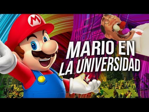 Mario En La Universidad ! Animacion Wtf Video ReacciÓN
