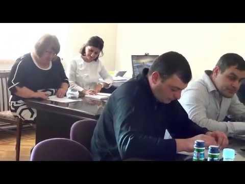 Բյուրեղավան համայնքի ավագանու հերթ. նիստ-15.10.18